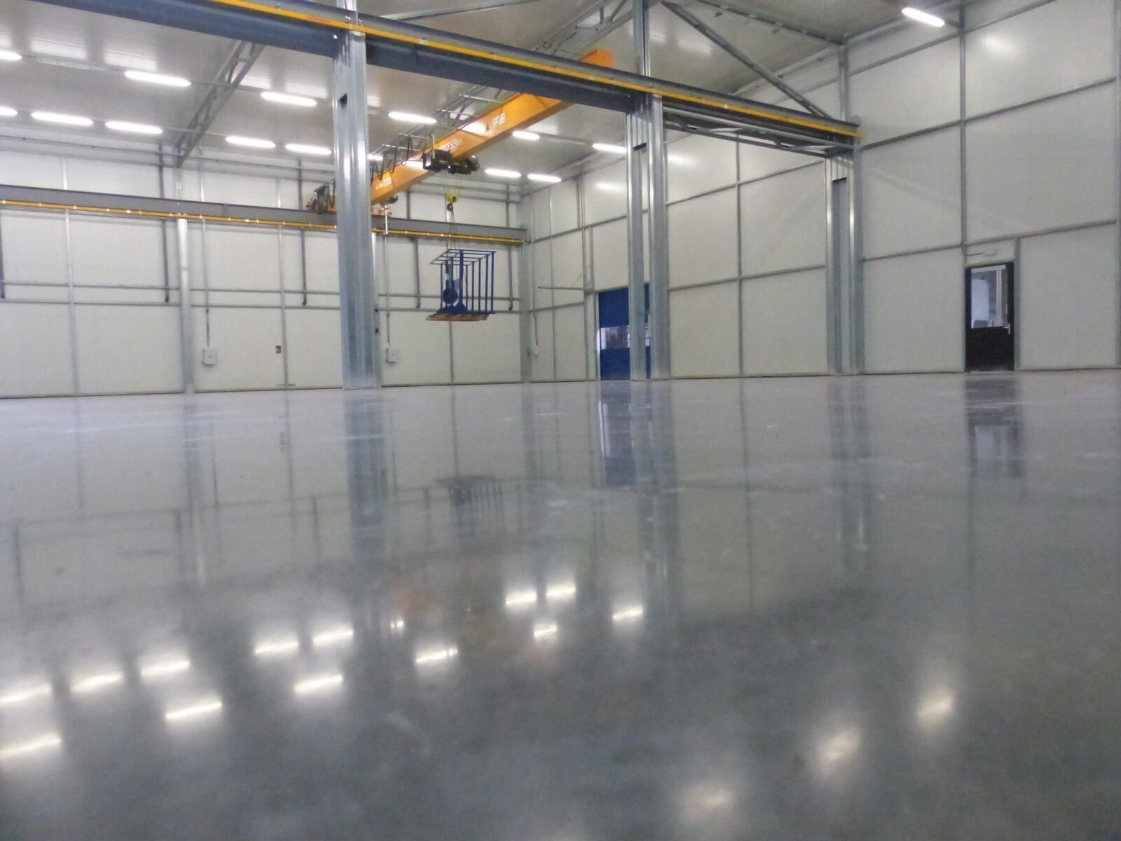 Manufacturing plant in genk, belgium, 1000m2