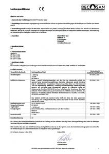 becosan leistungserklärung pdf preview