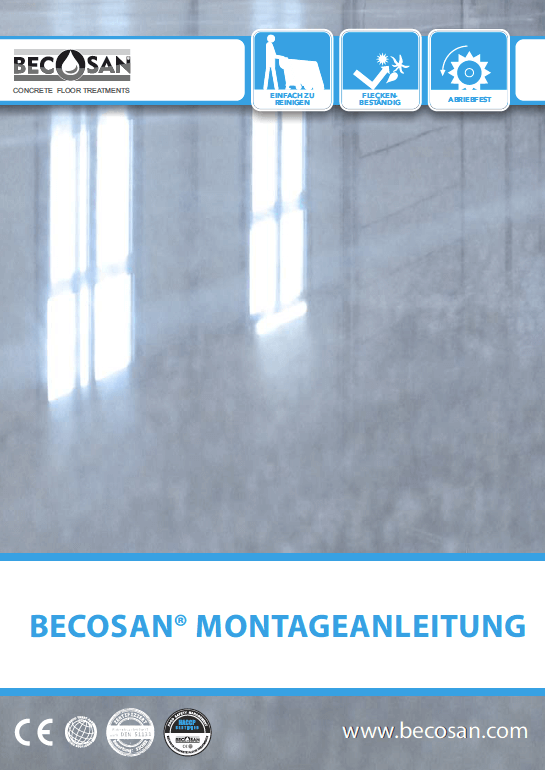 becosan montageanleitung pdf preview