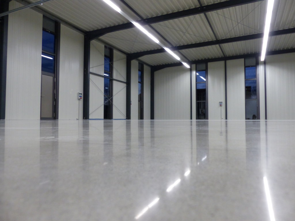 industrial concrete floor