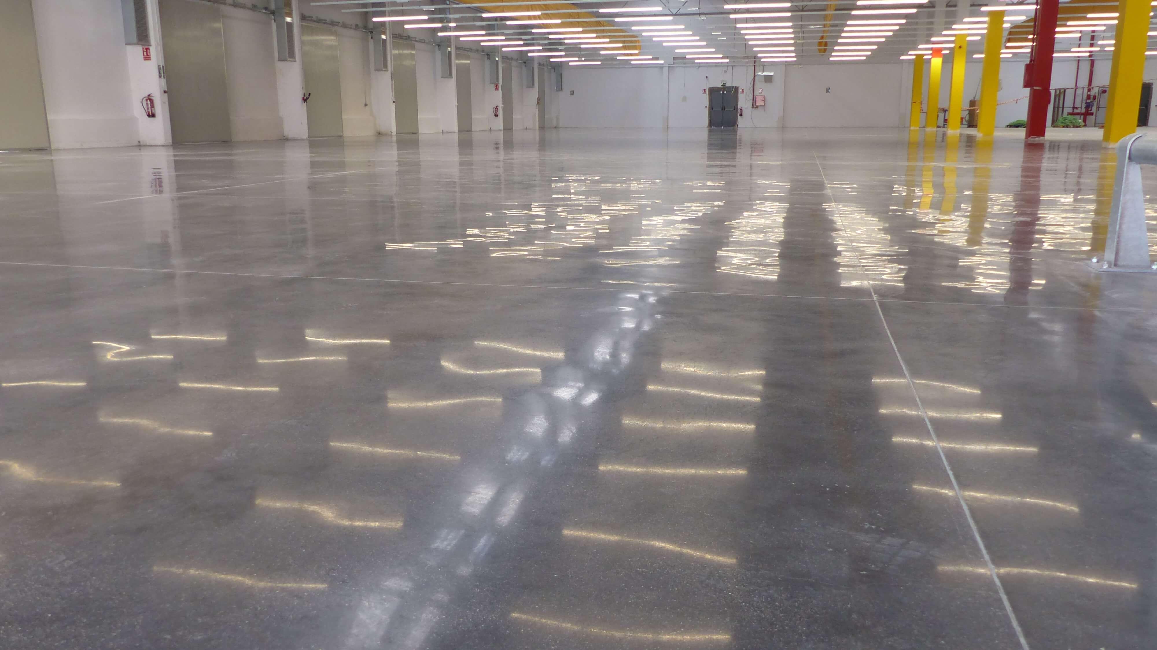 polished concrete - Hormigón Pulido
