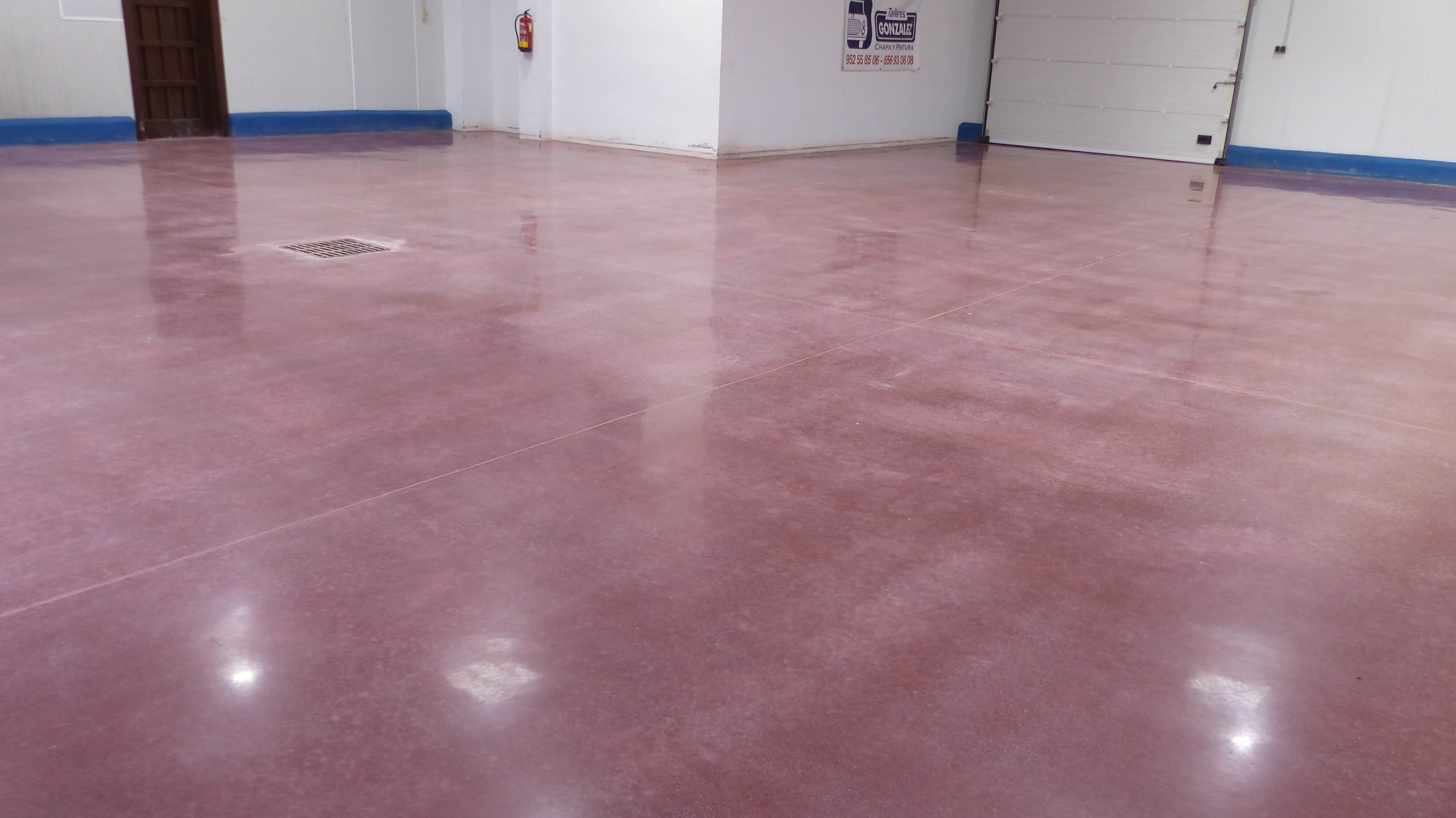 farben polierter beton