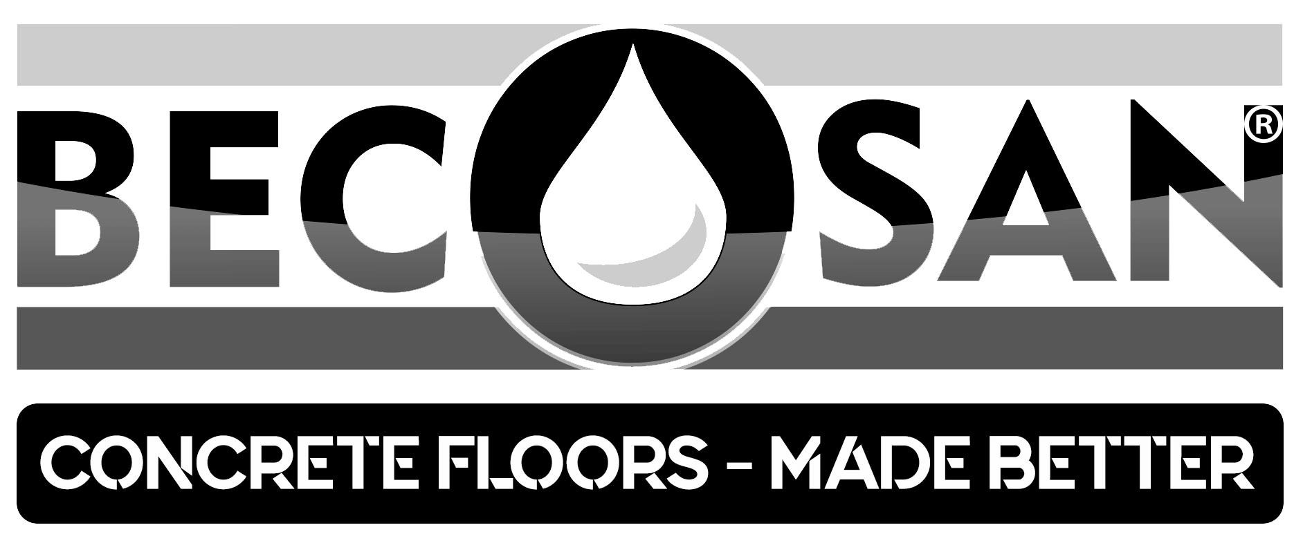 opaque becosan logo concrete floors made better - Rénovez votre ancien sol industriel en béton