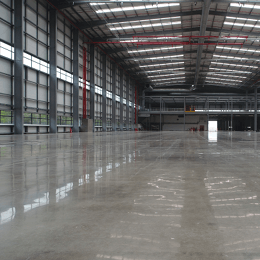 benefits polished concrete