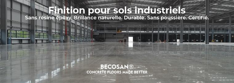 Finition pour sols industriels