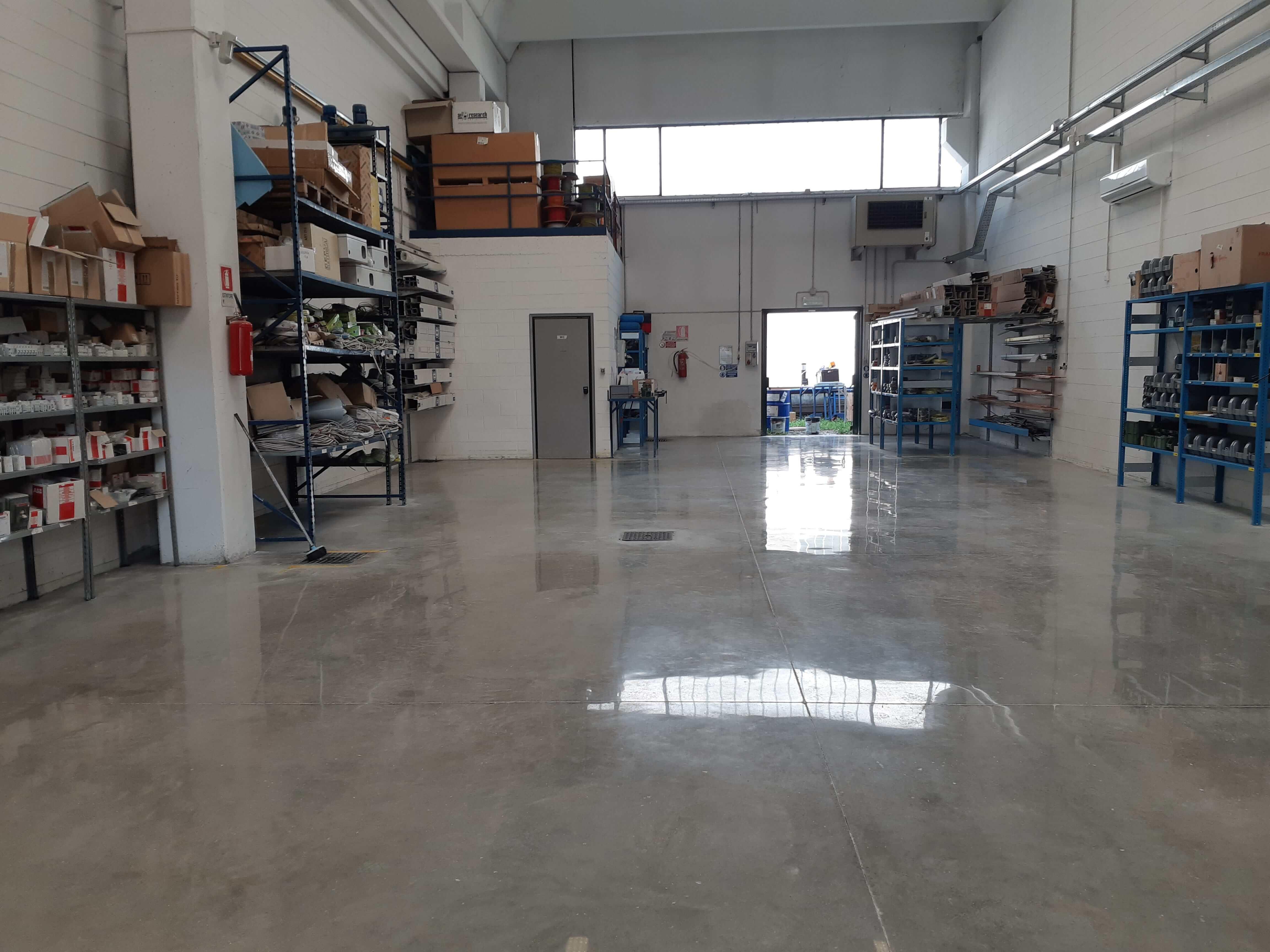 Gepolijste betonvloeren