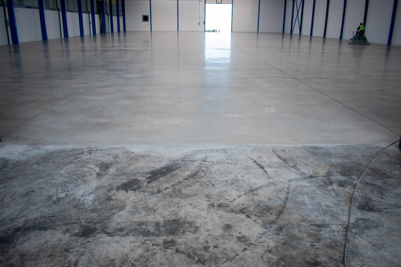 pavimento de hormigon