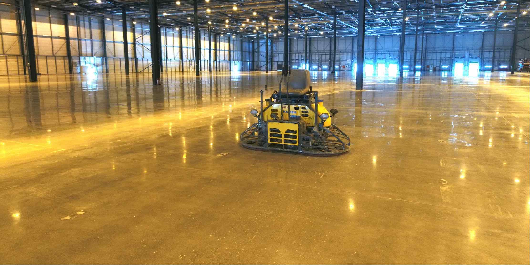 4 - How to polish concrete floors