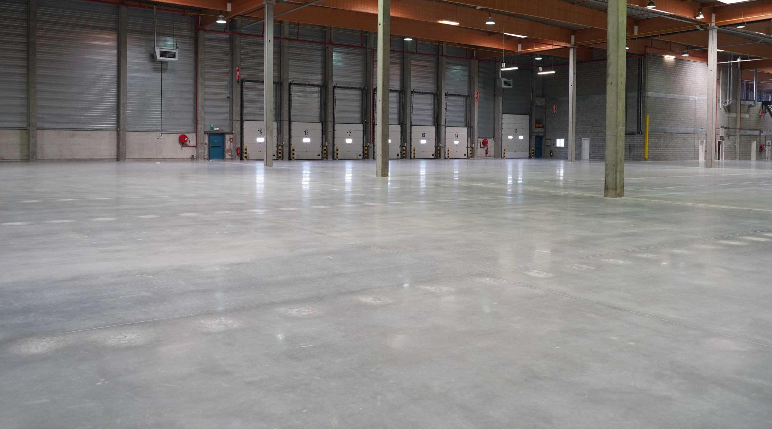 Polished concrete floor benefits