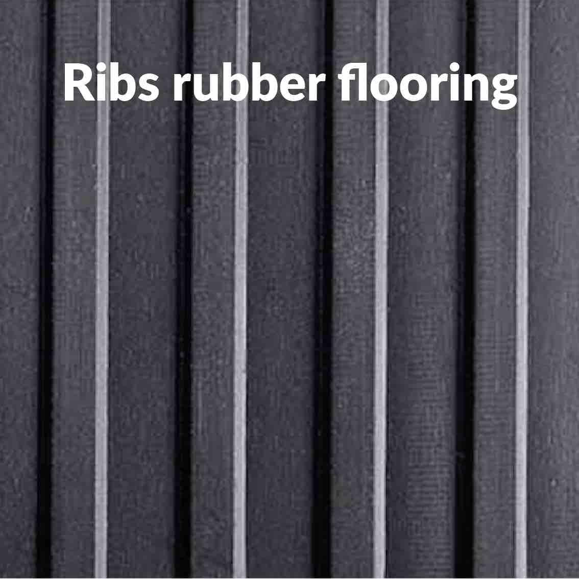Ribs Rubber Flooring