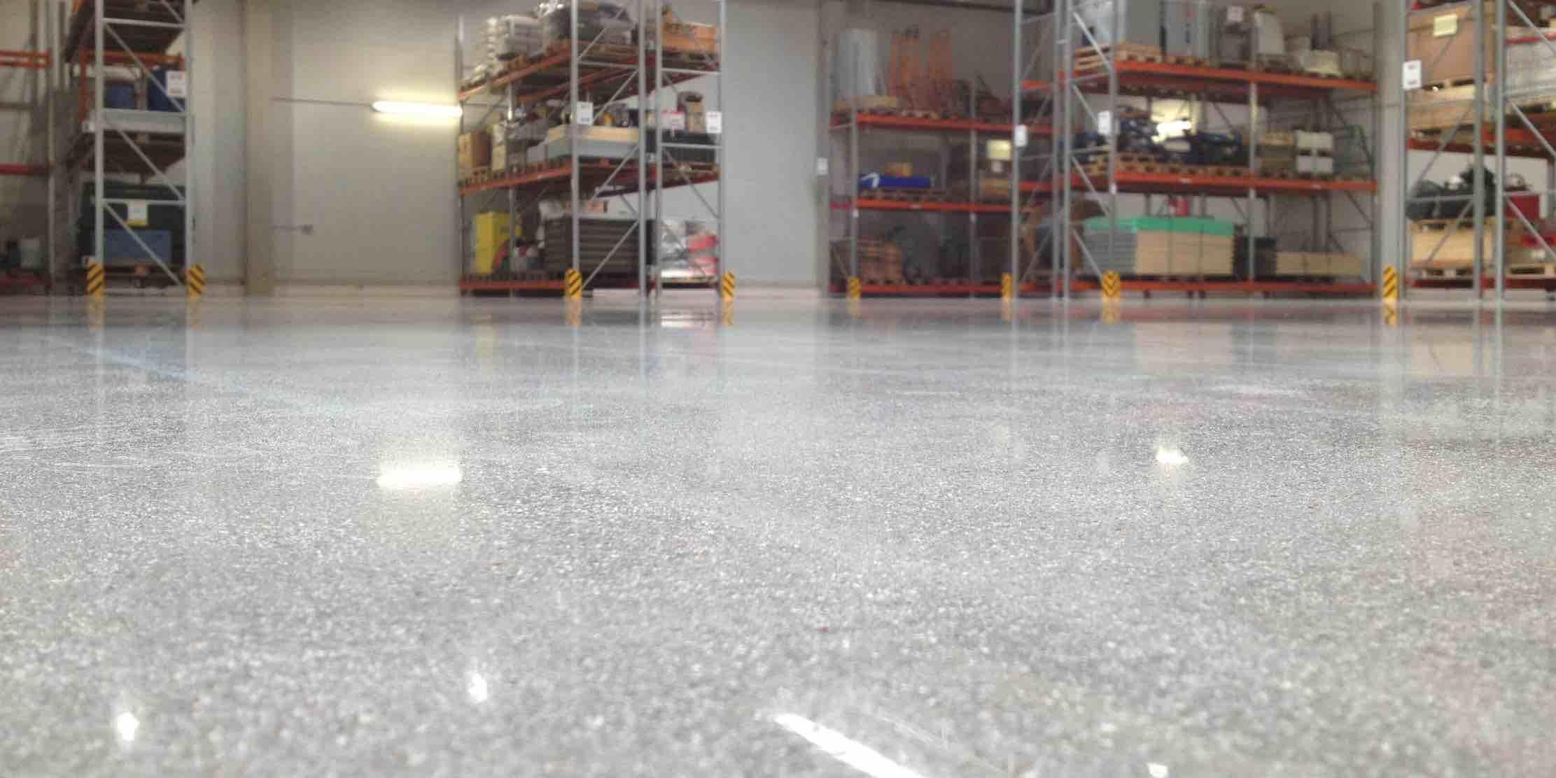 How to polish concrete floors 3