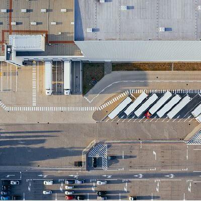 Bâtiment industriel et de distribution