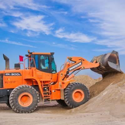 Toprağın endüstriyel arazi için hazırlanması