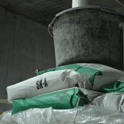 Bag of cement