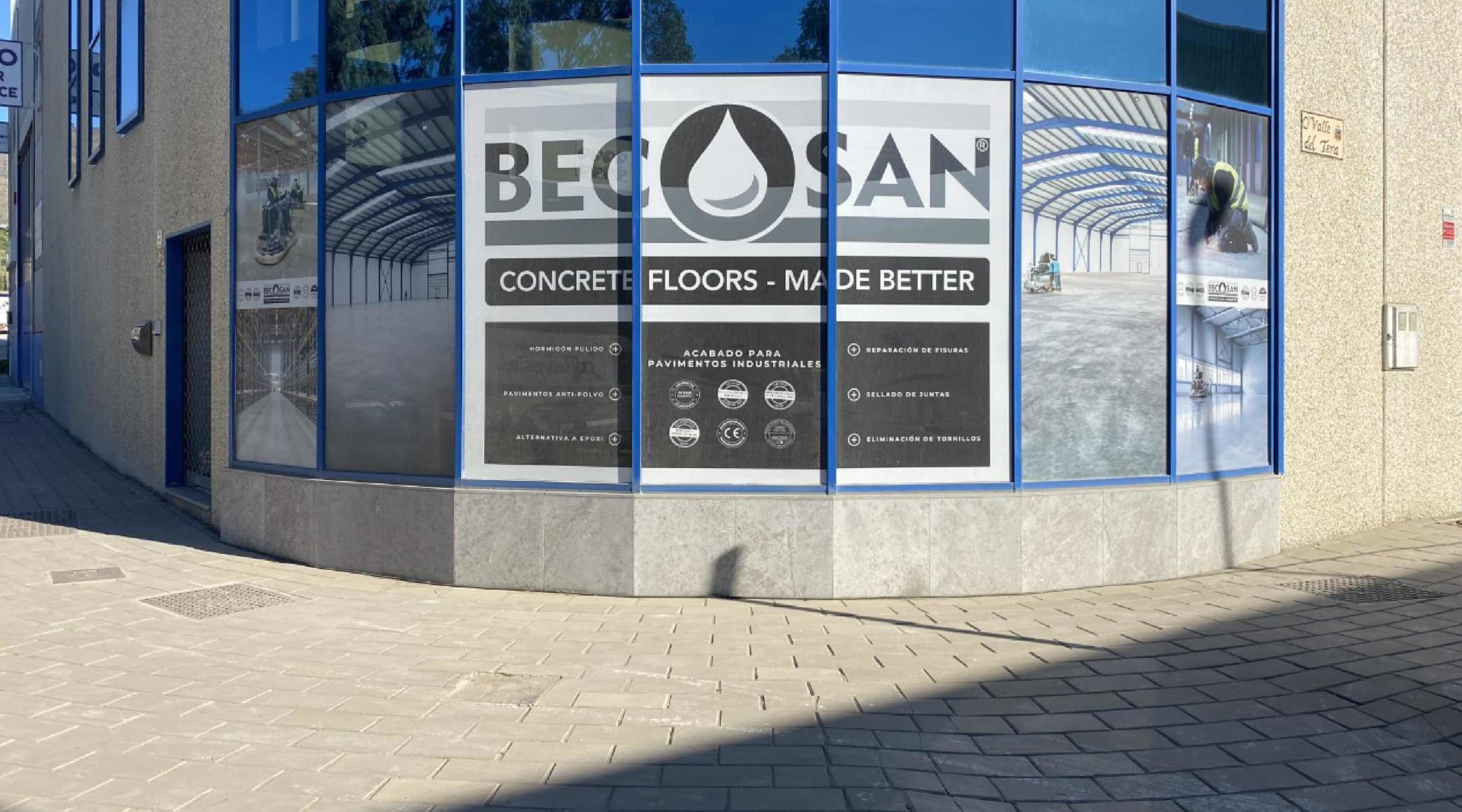 Becosan's New Headquarters In Spain