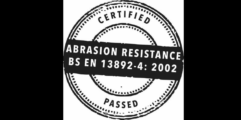 Certificación Din 52108 Resistencia A La Abrasión De Becosan
