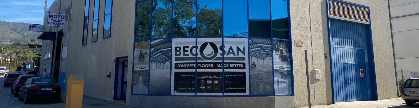Nuevas oficinas BECOSA España