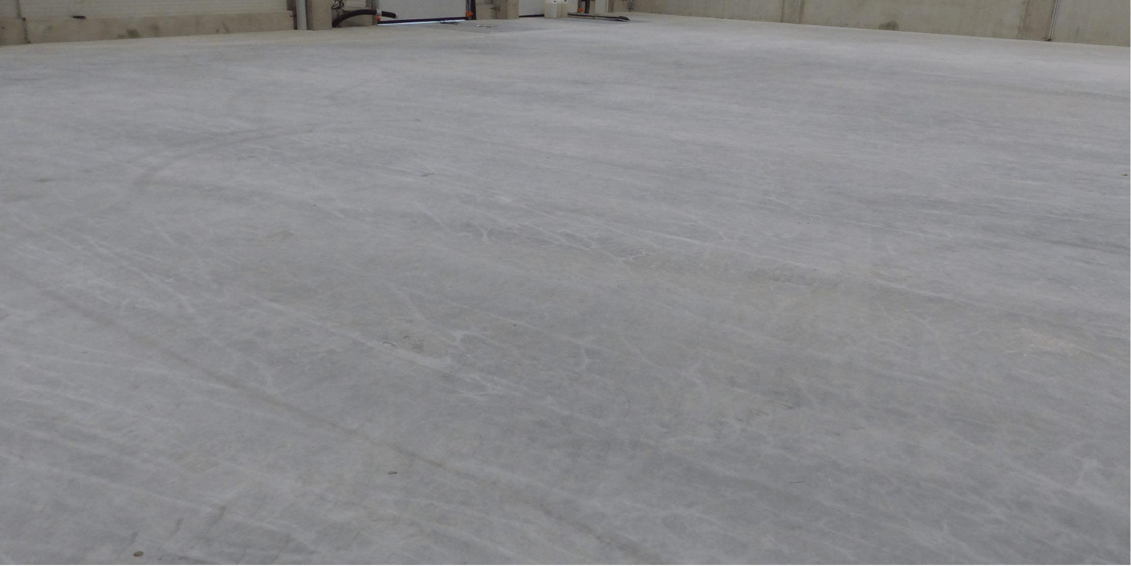 Untreated Concrete Floor