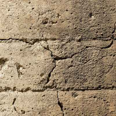 Damage that can be repaired with fast cement