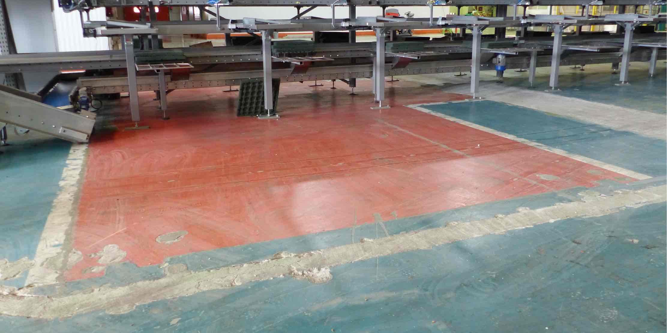 Epoxy flooring problems