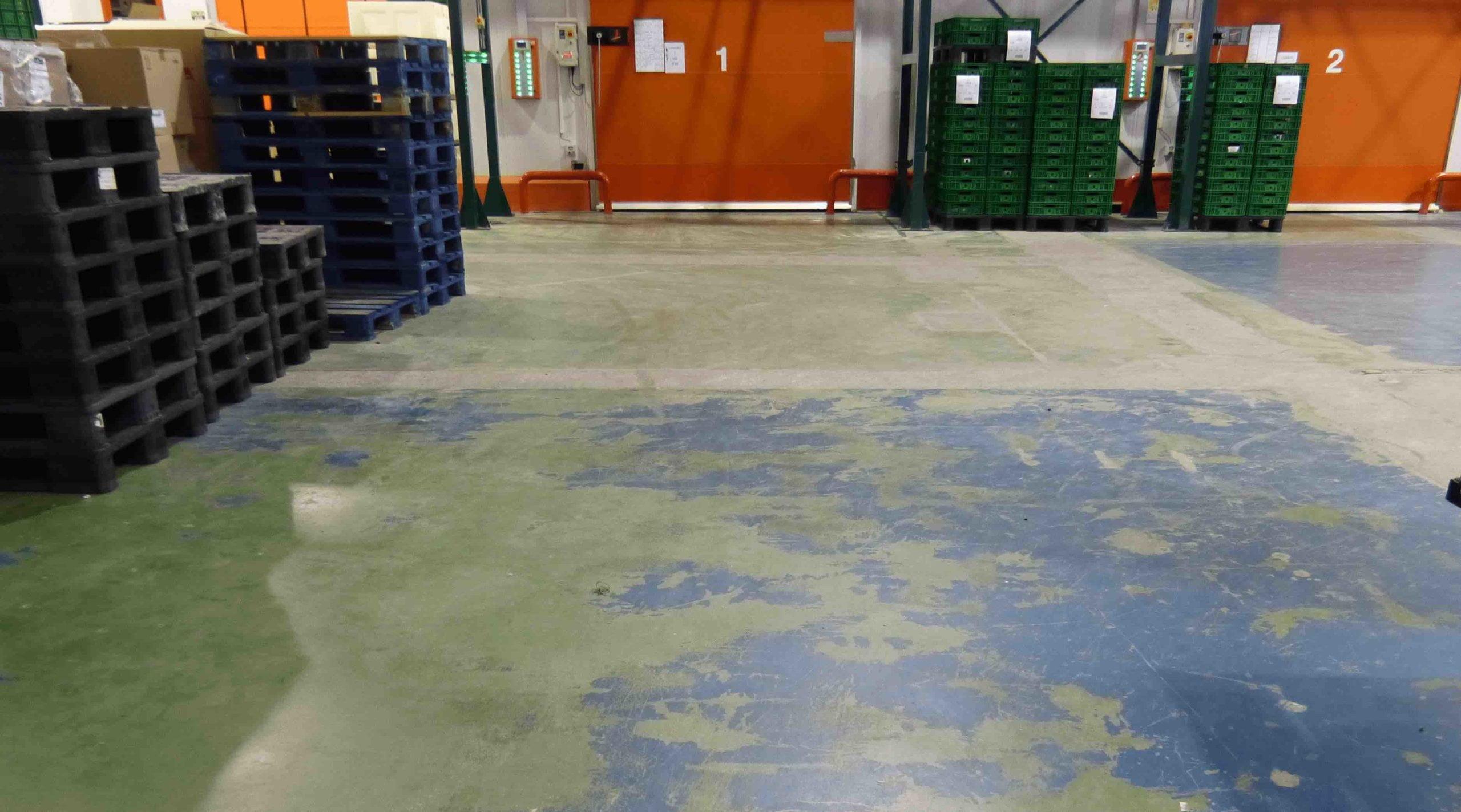 General epoxy floor problems