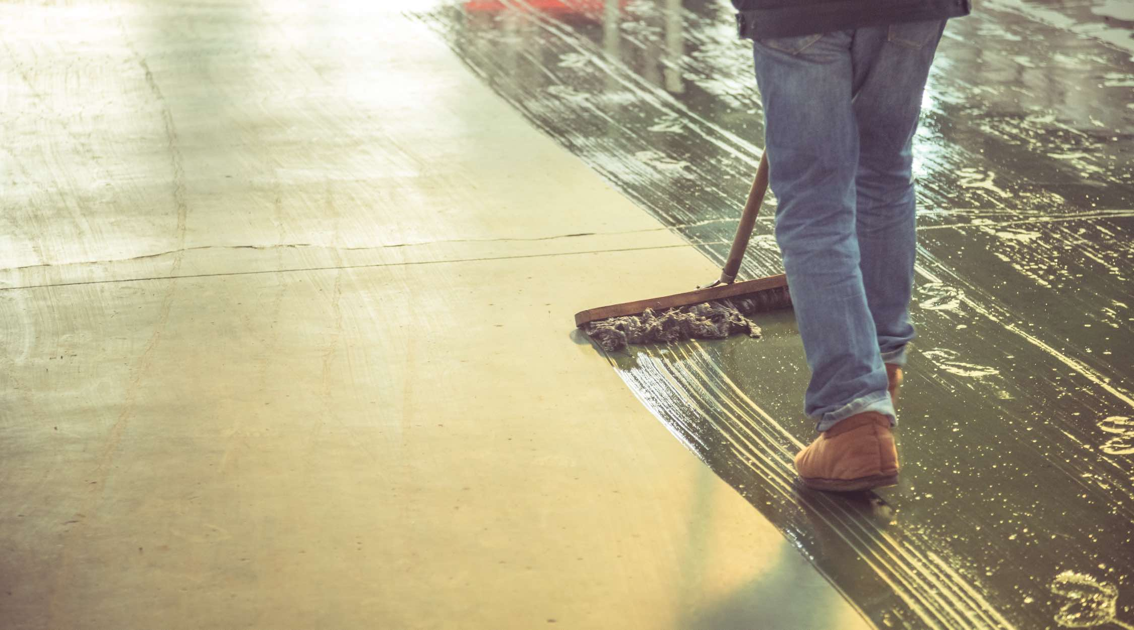 Types of industrial cleaning