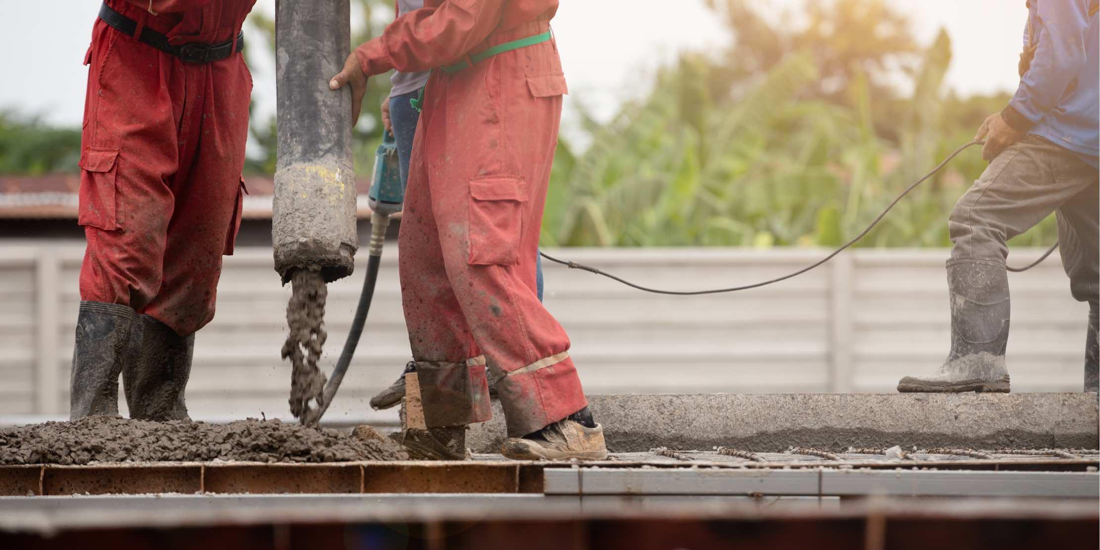 Concrete pouring | Concrete slab