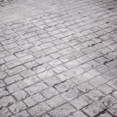 Gestempeld beton