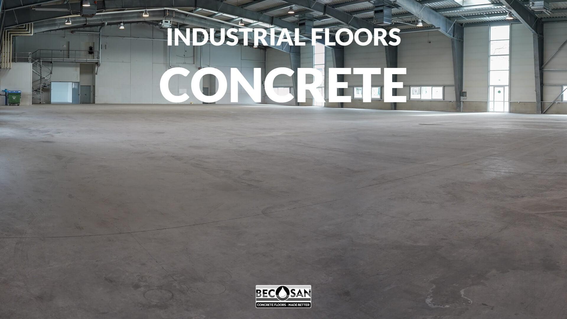 industrial floors - concrete