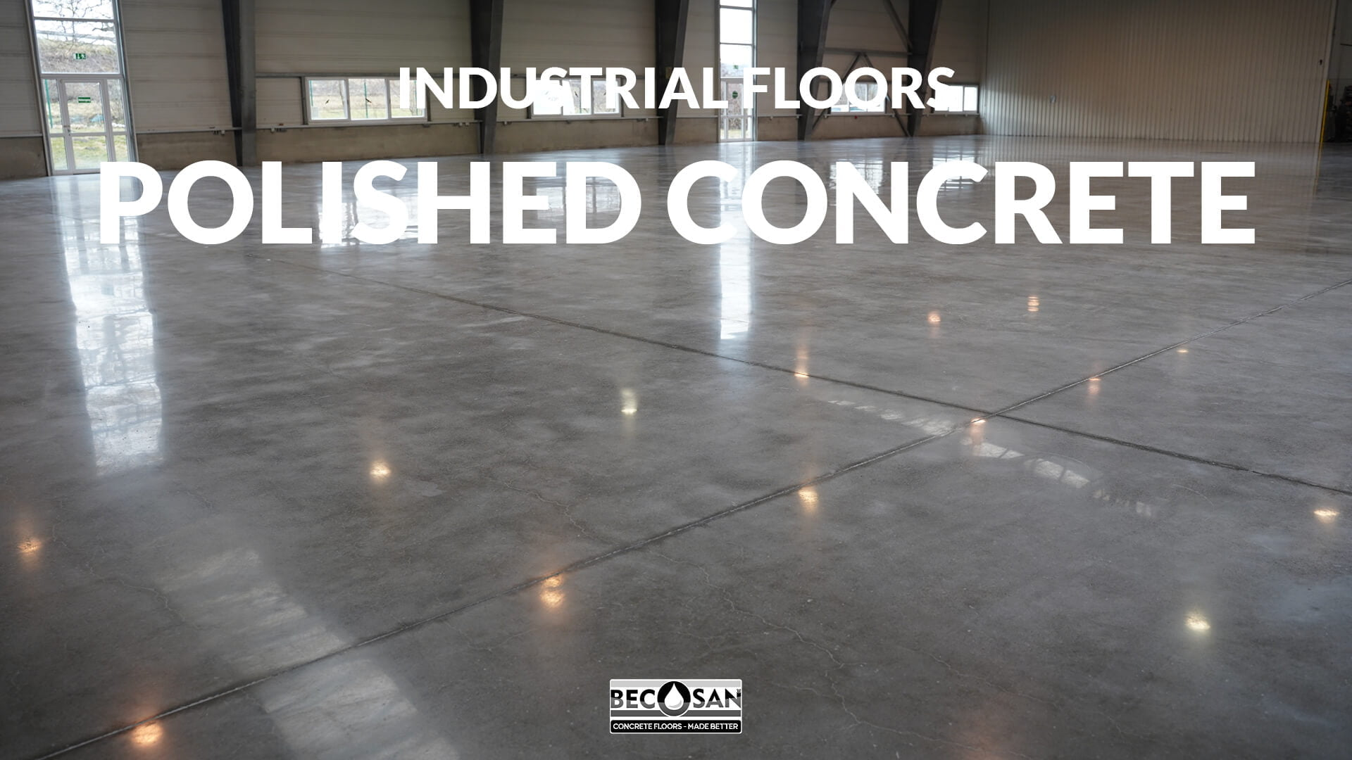 industrial floors - polished concrete