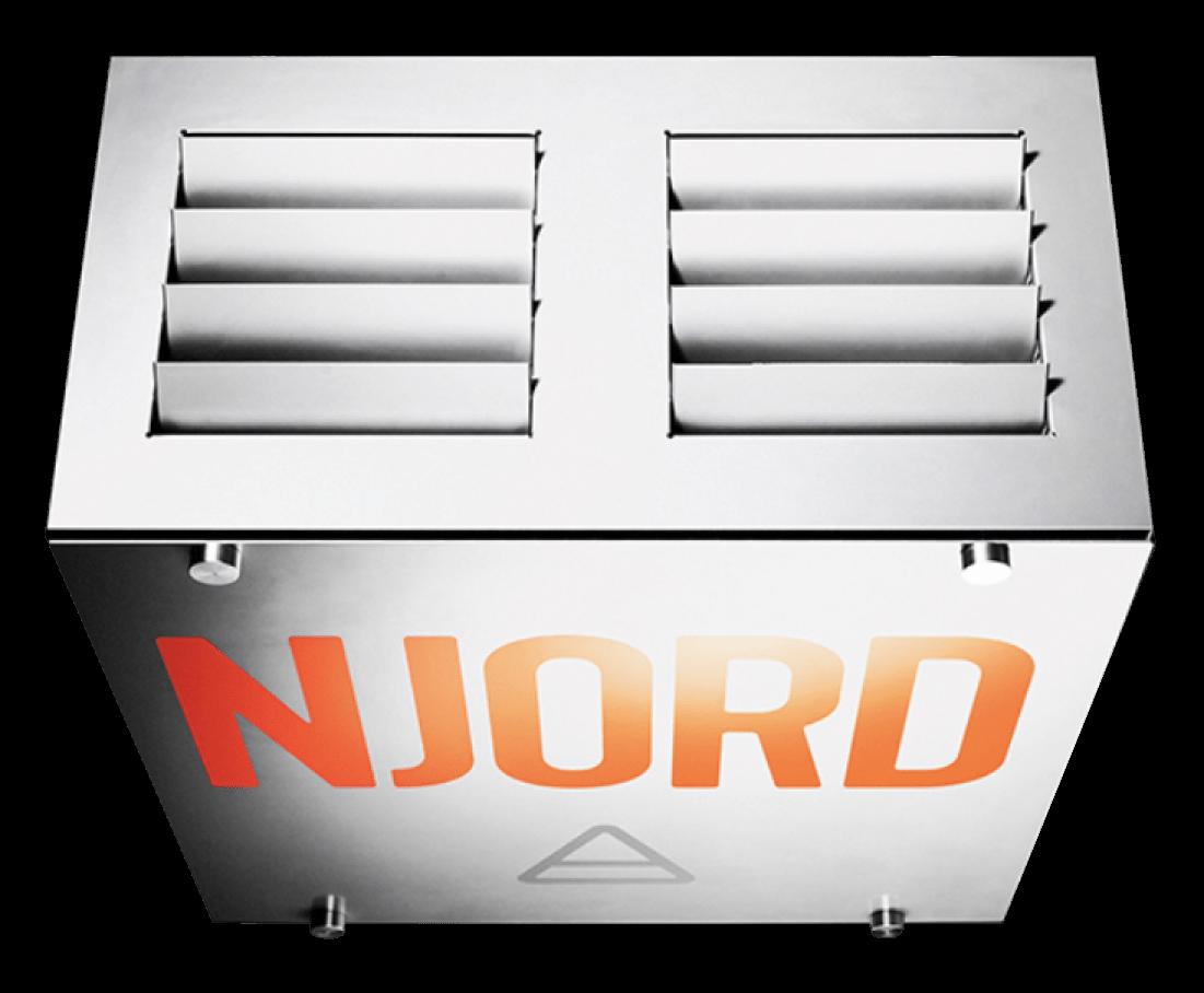 njord clean filtro polvo industrial