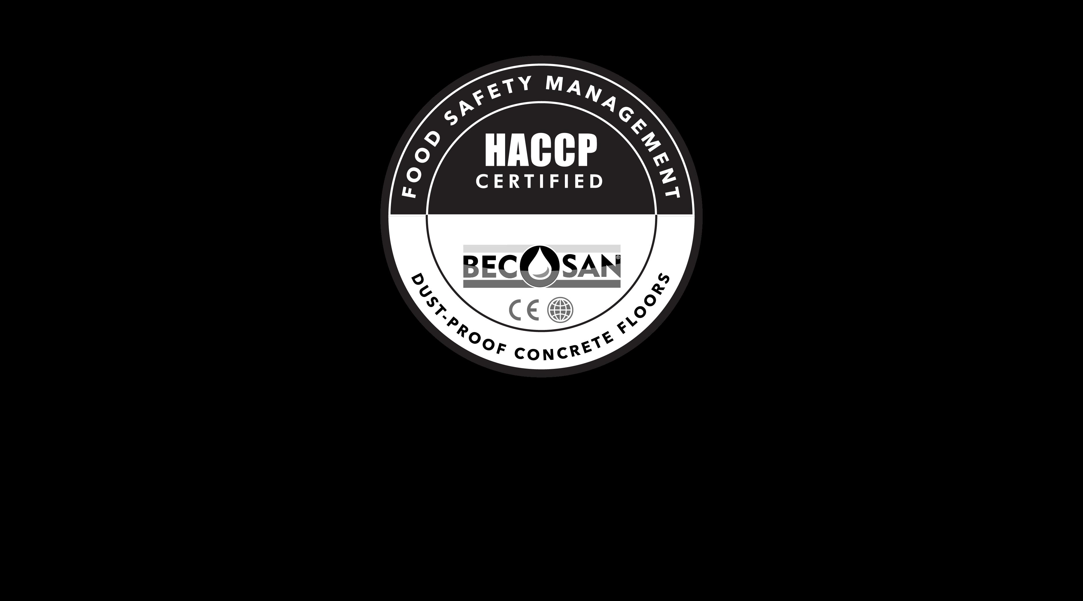 Certificate Haccp - BECOSAN®