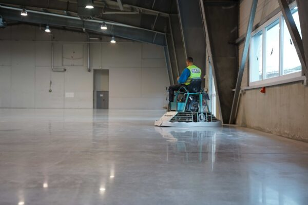 industrial floor finishing