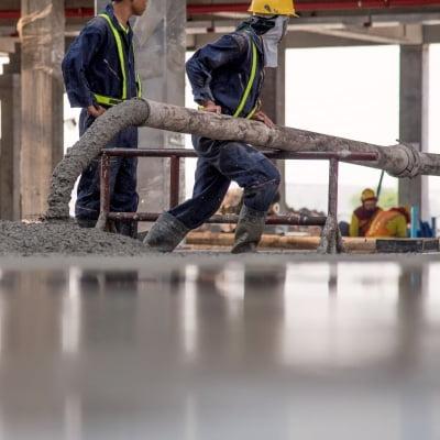 usos del concreto de limpieza