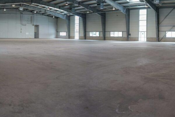 warehouse concrete floor panoramic
