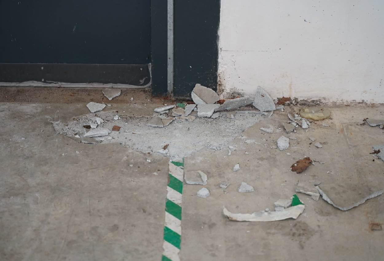 Riparazione di pavimenti in calcestruzzo