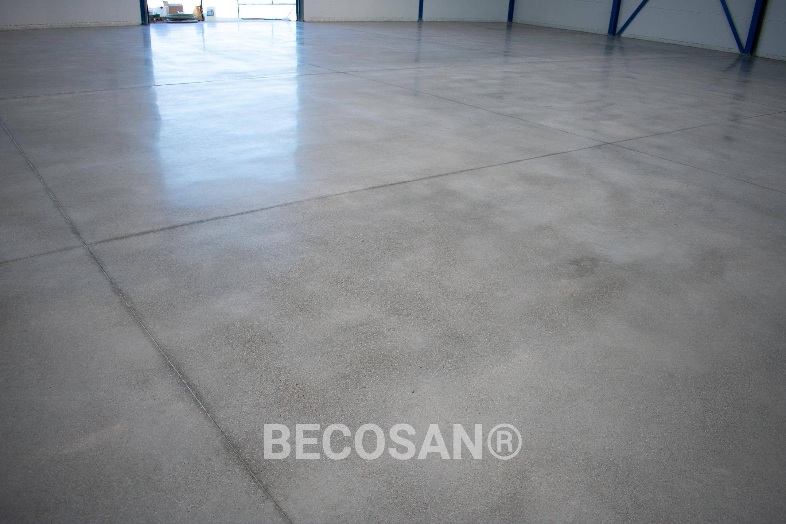 Tyre Marks Problem Warehouse Concrete Floor 10