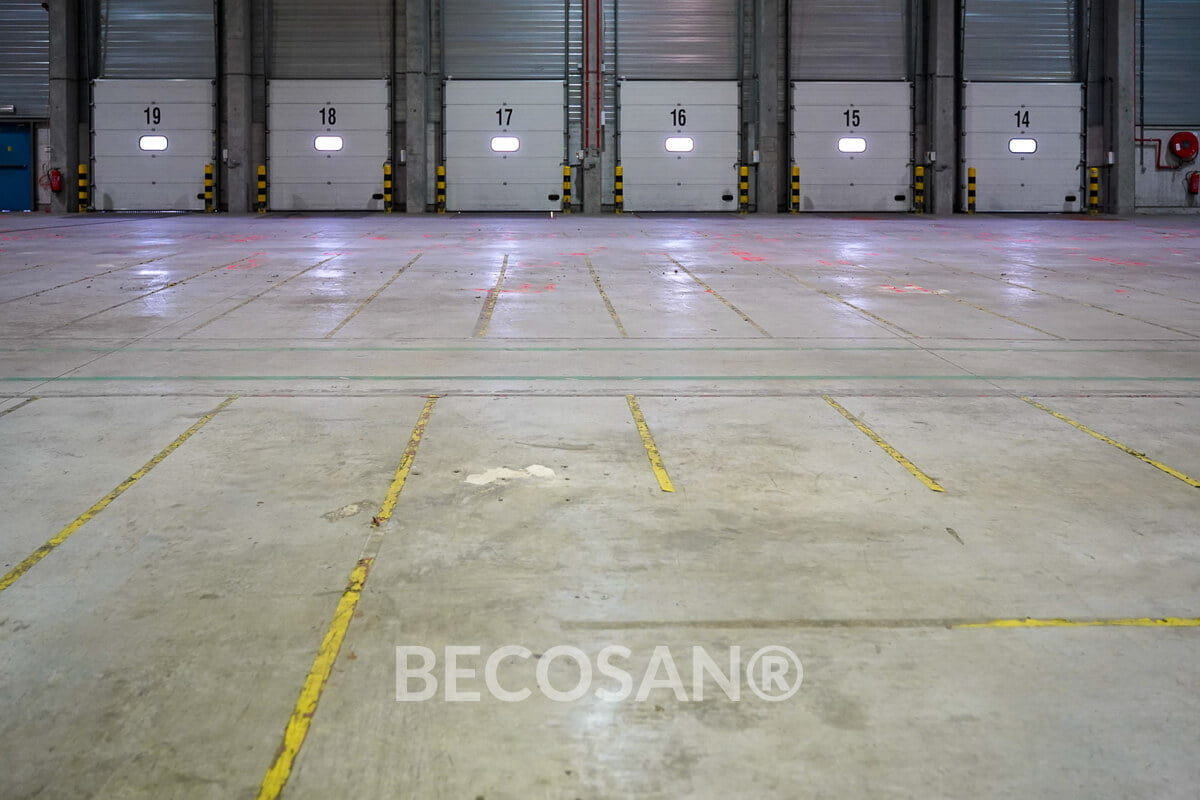 Warehouse Concrete Floor Refurbishment 02