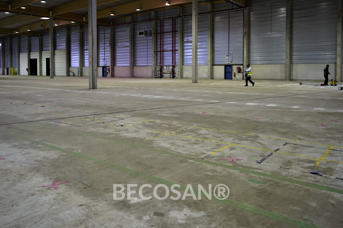 Warehouse Concrete Floor Refurbishment 03