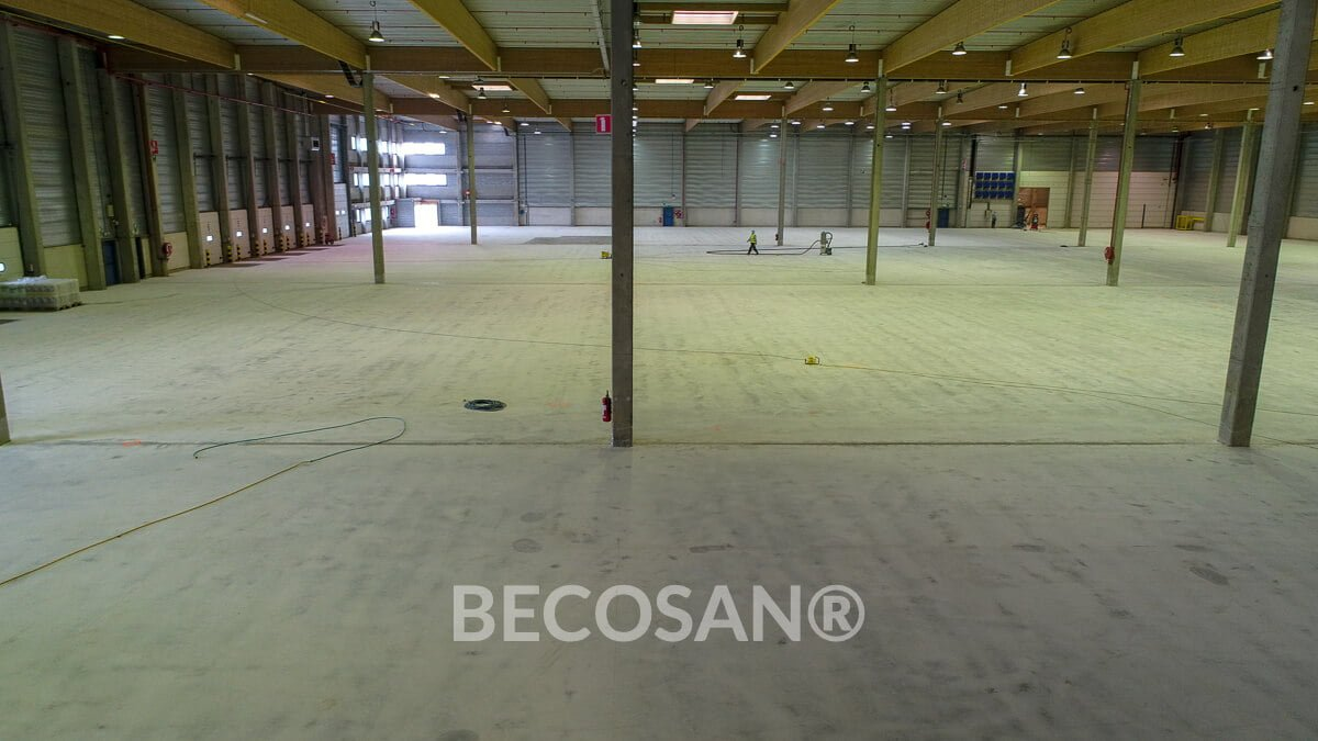 Warehouse Concrete Floor Refurbishment 06