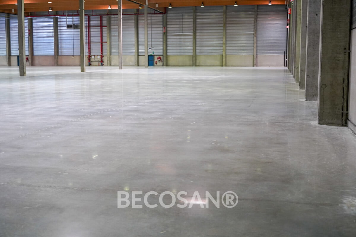 Warehouse Concrete Floor Refurbishment 10