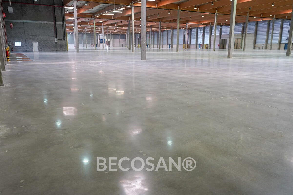 Warehouse Concrete Floor Refurbishment 11