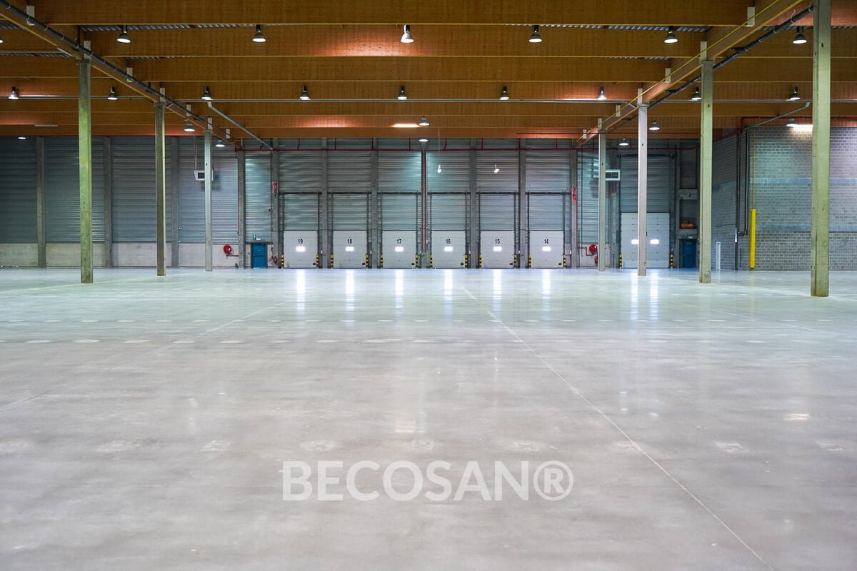Warehouse Concrete Floor Refurbishment 14