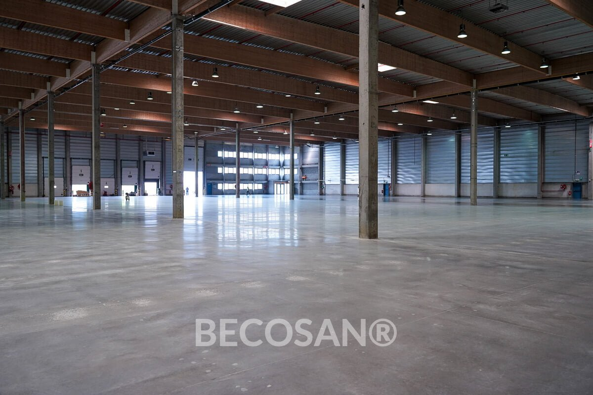 Warehouse Concrete Floor Refurbishment 16