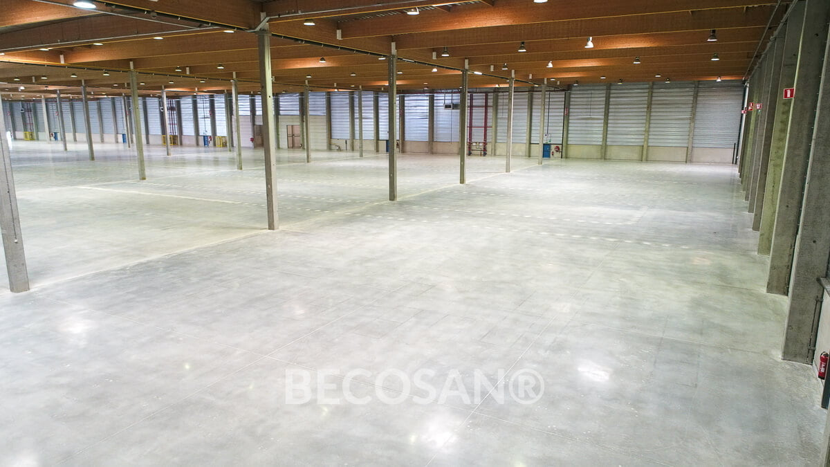 Warehouse Concrete Floor Refurbishment 17
