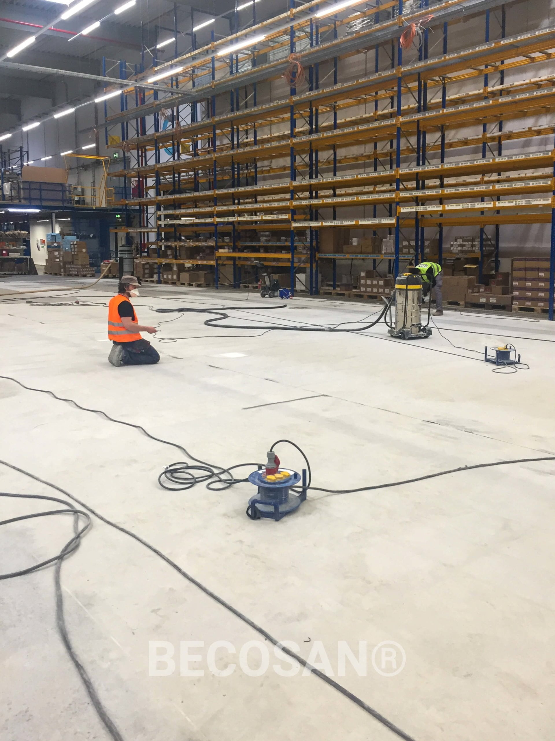 concrete floor refurbishment - COLOPLAST DISTRIBUTION GMBH-03