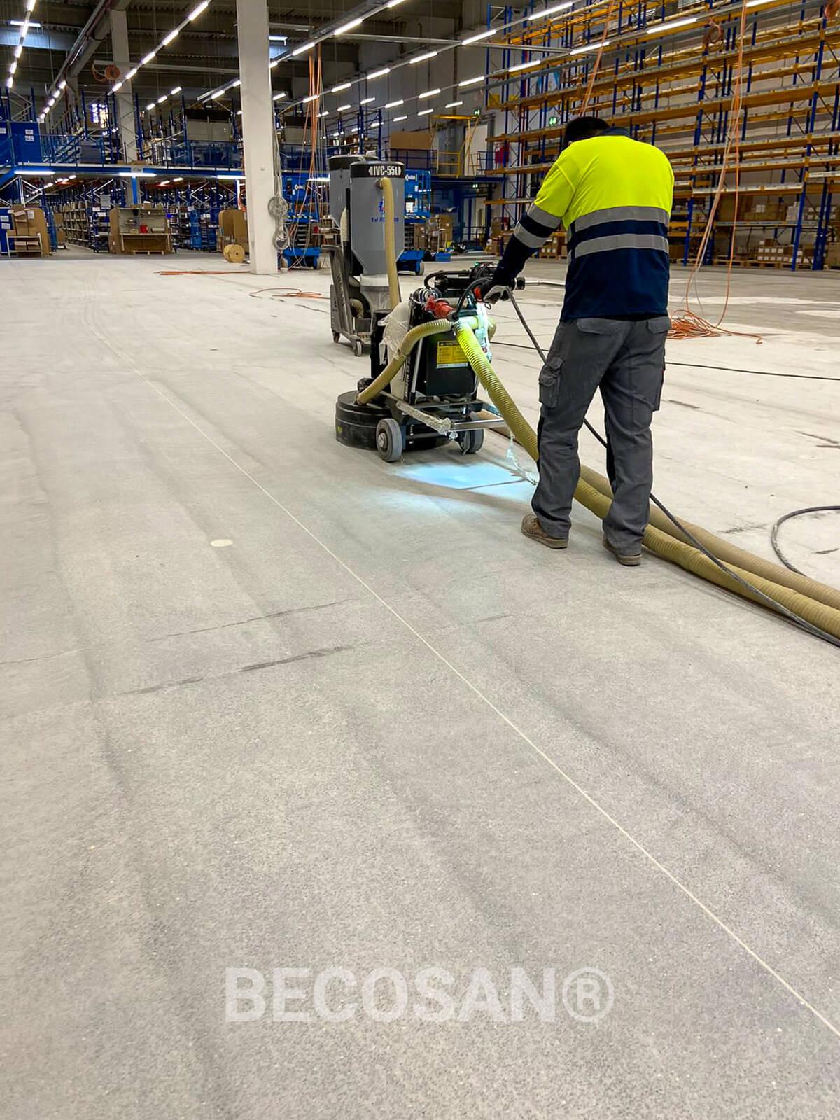 prep floor work