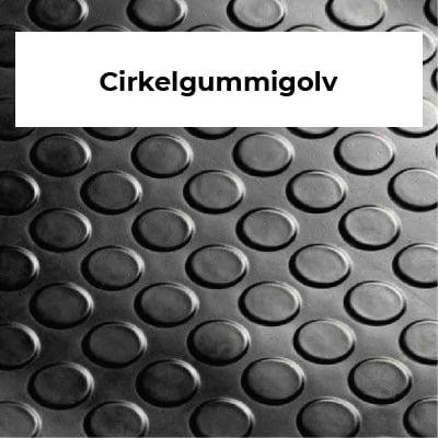Cirkelgummigolv