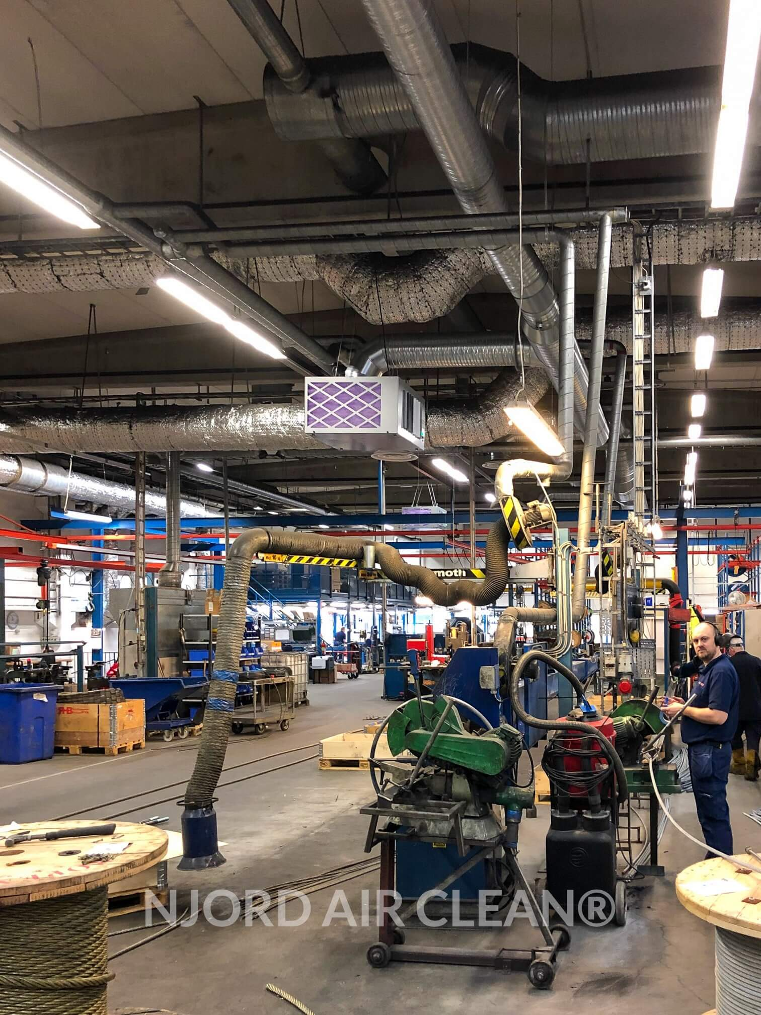 Purifcador Aire Para Industria Metalurgica