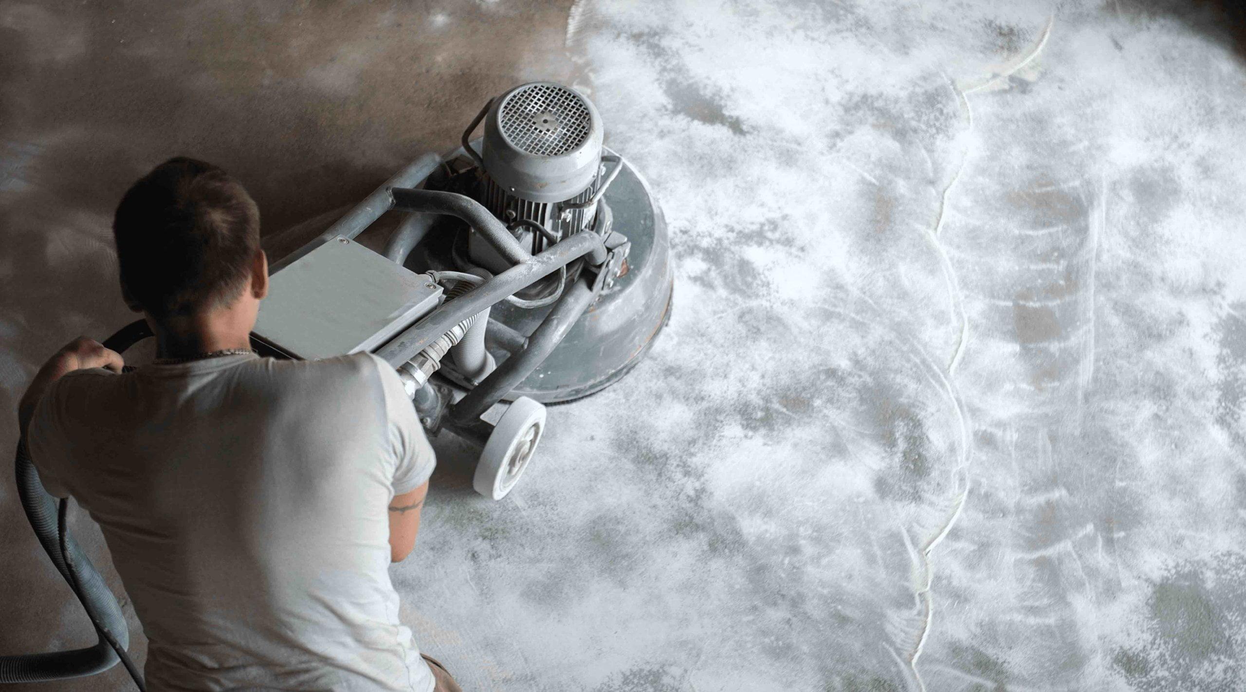 Pavimento de cimento polido
